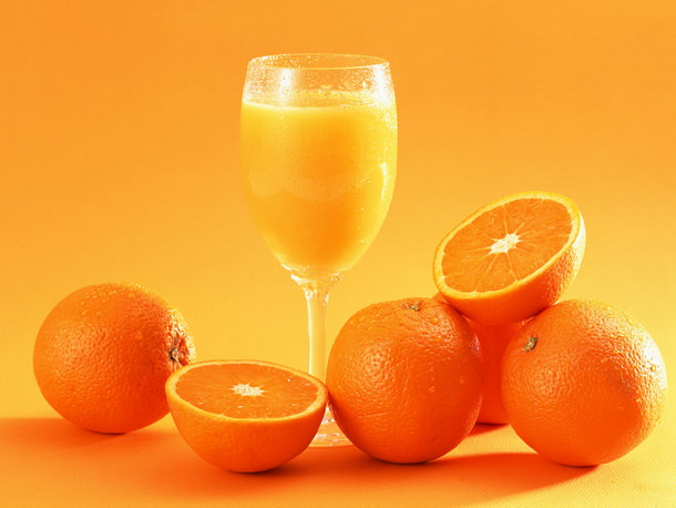 Очищение кожи фруктовыми и овощными соками